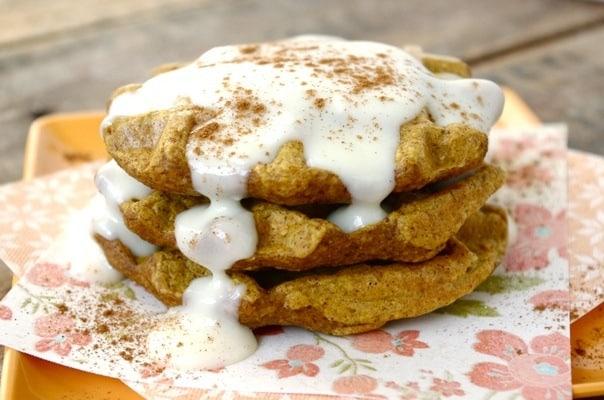gluten-free-pumpkin-chesecake-waffles
