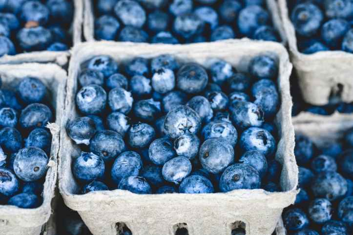 food healthy red blue